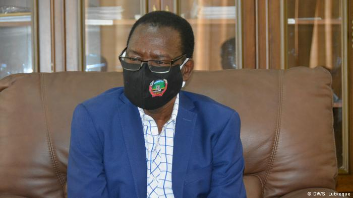 Mosambik Korruptionskandal - Paulo Vahanle (DW/S. Lutxeque)