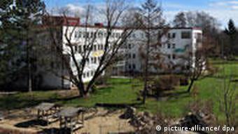 View of Schrobenhausen orphanage