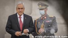 Chile Coronavirus Präsident Sebastian Pinera