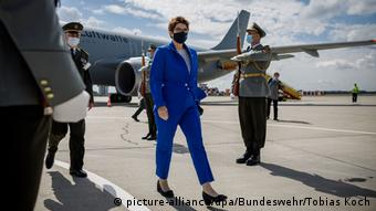 Slowakei Bratislava |Kramp-Karrenbauer, Verteidigungsministerin