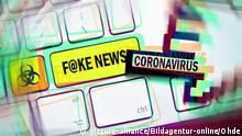 Symbolbild I Fake News I Coronavirus