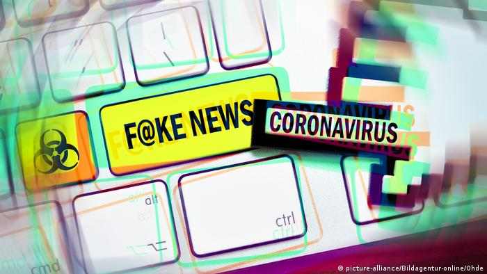 Symbolbild I Fake News I Coronavirus (picture-alliance/Bildagentur-online/Ohde)
