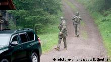 Deutschland Polizeifahndung in Oppenau