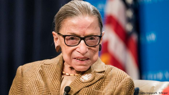 Ruth Bader Ginsburg (Getty Images/S. Silbiger)