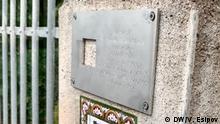 Deutschland Projekt Letzte Adresse in Naumburg