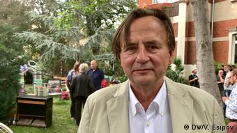 Хельмут Зонненшайн-младший, сын репрессированного советскими властями гражданина ГДР
