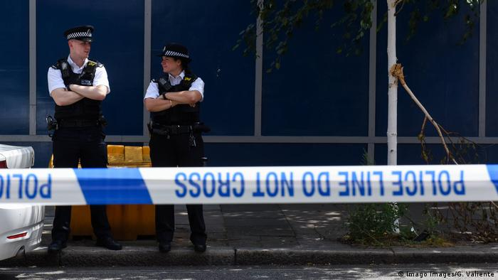 Symbolbild I Großbritannien I London I Polizei (Imago Images/G. Valiente)
