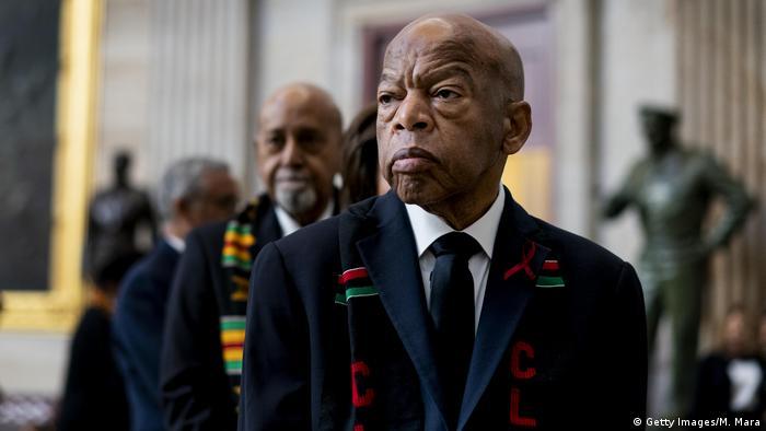 USA I Demokrat John Robert Lewis gestorben (Getty Images/M. Mara)