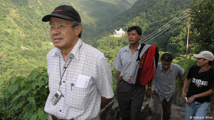 Niketu Iralu, a Naga elder and well-known peace and social activist in Nagaland