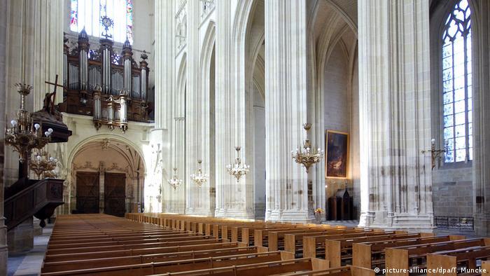 Собор Святых Петра и Павла в Нанте до пожара