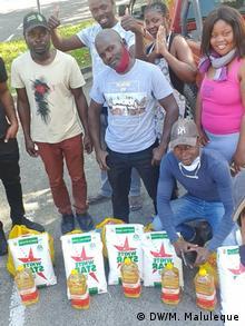Südafrika Johannesburg   Stiftung ˝Nipfuni˝ unterstützt Familien aus Mosambik in der Kapregion
