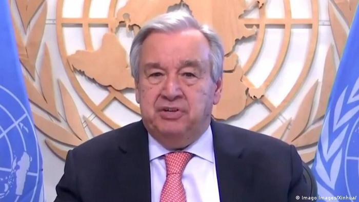 Генеральный секретарь ООН Антониу Гуттериш