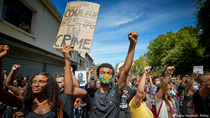 Frankreich | Black Lives Matter | Protest gegen Rassismus (Getty Images/K. Ridley)
