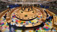 A general view prior to the start of the first face-to-face EU summit since the coronavirus disease (COVID-19) outbreak, in Brussels, Belgium July 18, 2020. John Thys/Pool via REUTERS