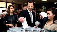 Parlamentswahlen in Syrien I Archivbild