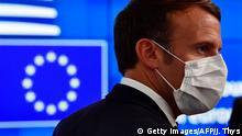 Brüssel I EU-Gipfel I Tag 3 I Emmanuel Macron