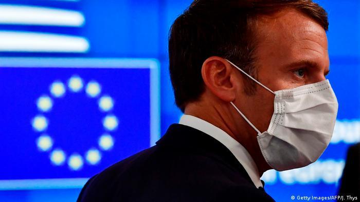 Brussels I EU-summit I Day 3 I Emmanuel Macron