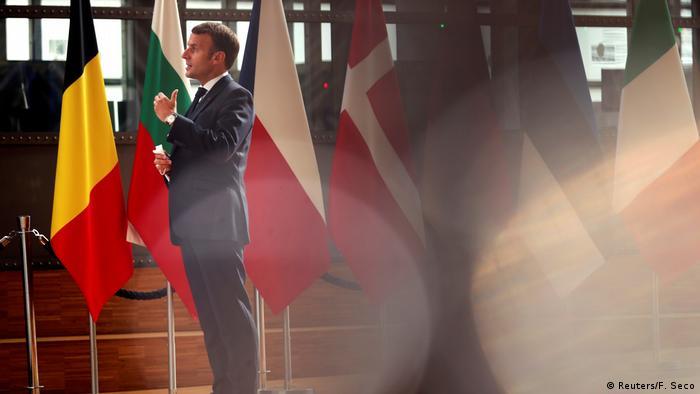 Emmanuel Macron in Brussels (Reuters / F. Seco)