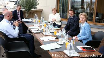 Третий день саммита ЕС в Брюсселе: Ангела Меркель, Эмманюэль Макрон, Урсула фон дер Ляйен и другие политики