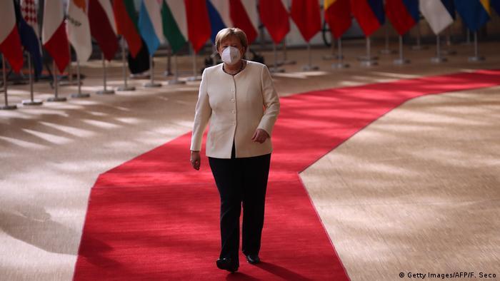 Brüssel I EU-Gipfel I Tag 3 I Angela Merkel (Getty Images/AFP/F. Seco)