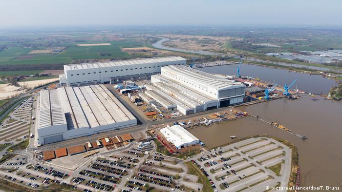 Șantierul naval Meyer Werft din Papenpurg