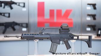 یکی از تولیدات پرفروش کارخانه هکلر و کوخ آلمان تفنگ خودکار ژ۳۶ است