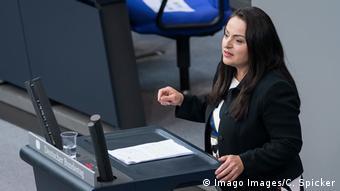 Η βουλευτής της Αριστεράς Σεβίμ Ντάγκντελεν