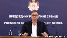 Serbien Belgrad |Aleksandar Vucic, Präsident