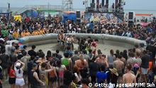 Südkorea | Boryeong Schlammfestival (Getty Images/AFP/M. Suh)