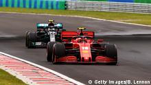 Formel 1 I Großer Preis von Ungarn I Charles Leclerc und Valtteri Bottas