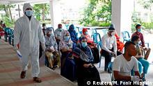 Bangladesch Dhaka | Coronavirus | Testzentrum