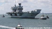 Großbritannien Royal Navy |HMS Queen Elizabeth