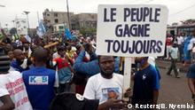Kongo Kinshasa |Prptest gegen Nominierung von Ronsard Malonda