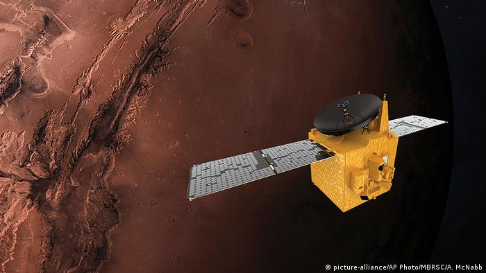 Амаль або Hope (Надія) - перший зонд, запущений на Марс Об'єднаними Арабськими Еміратами
