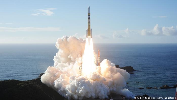 Vereinigte Arabische Emirate schicken Sonde Richtung Mars (AFP/Mitsubishi Heavy Industries)