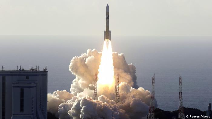 Satelit dari Uni Emirat Arab diluncurkan ke orbit Mars dari Kyodo, Jepang