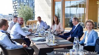Belgien Brüssel I EU-Gipfel I Charles Michel I Ursula von der Leyen