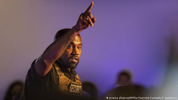 USA Wahlveranstaltung Rapper Kanye West (picture alliance/AP/The Post And Courier/L.P. Ipetracca)