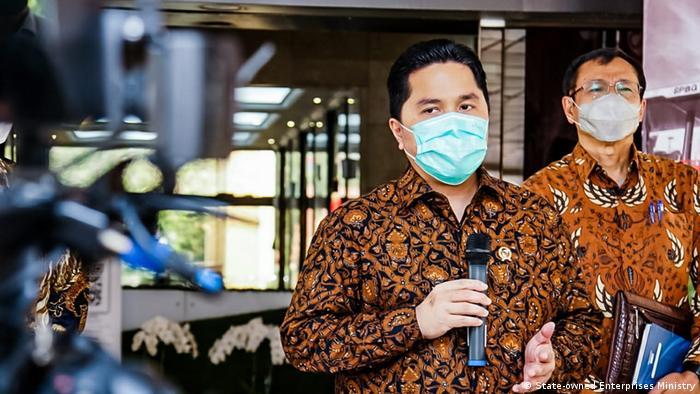 Indonesien Minister Erick Thohir