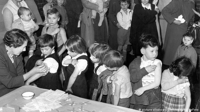 Vakcinacija u Engleskoj 1962. godine