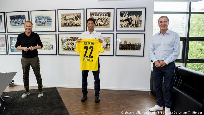 Jude Bellingham | Transfer Bellingham nach Borussia Dortmund (picture-alliance/dpa/BVB/Borussia Dortmund/A. Simoes)
