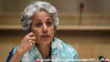 Chef-Wissenschaftlerin der Weltgesundheitsorganisation (WHO) Soumya Swaminathan