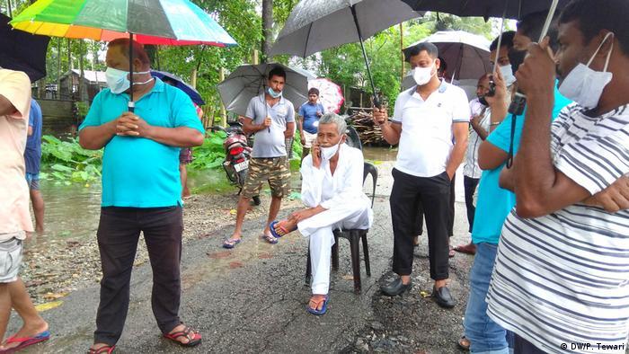 Indien Überschwemmung in Assam