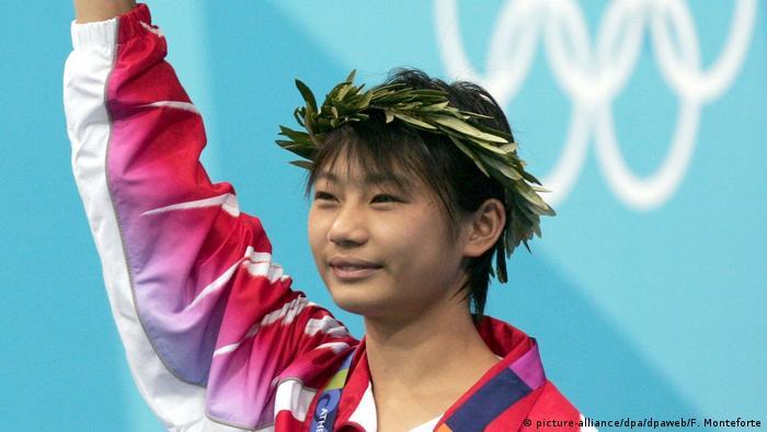 Olympische Spiele Athen 2004 | Turmspringen Lishi Lao