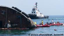 Ukraine Tanker wird aus Golf von Odessa entfernt