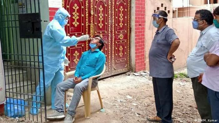 Indien Bihar | Coronavirus | Coronatest