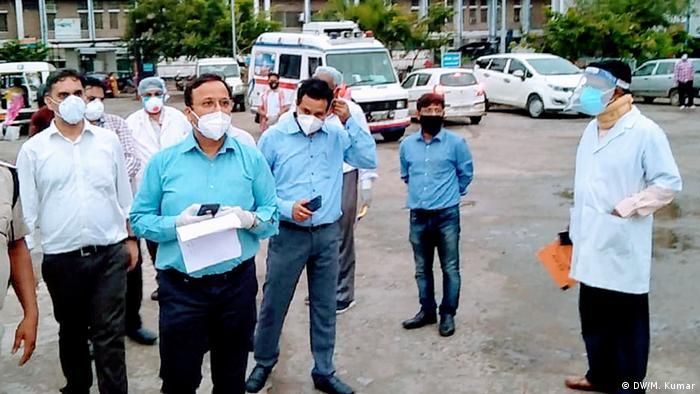 Indien Bihar | Coronavirus | Krankenhaus