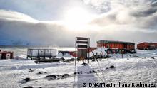 Antarktis Forschungsstation Carlini