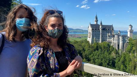DW COVID Travel Diaries | Gordine & Zivkovic | Schloss Neuschwanstein