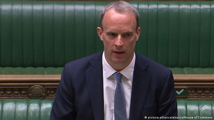 UK Dominic Raab (picture-alliance/empics/House of Commons)